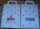 Papperbag HAAS/PEZ (front and backside)